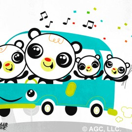 Panda Family Vacation