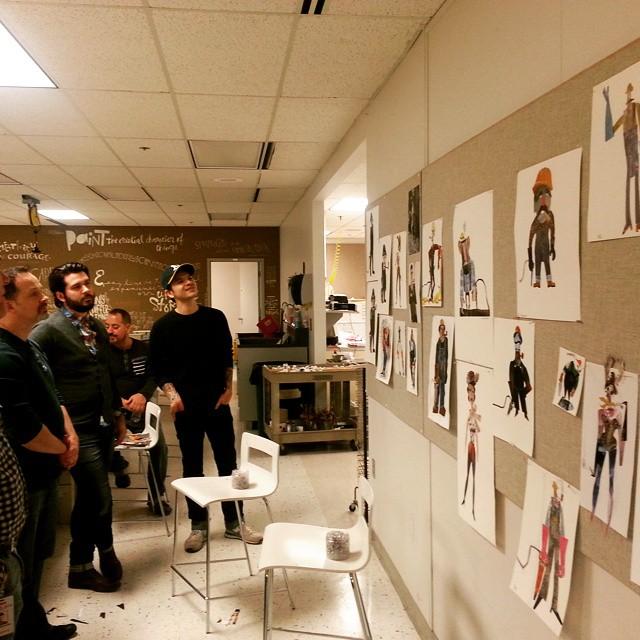 Chris Sasaki workshop at AG.