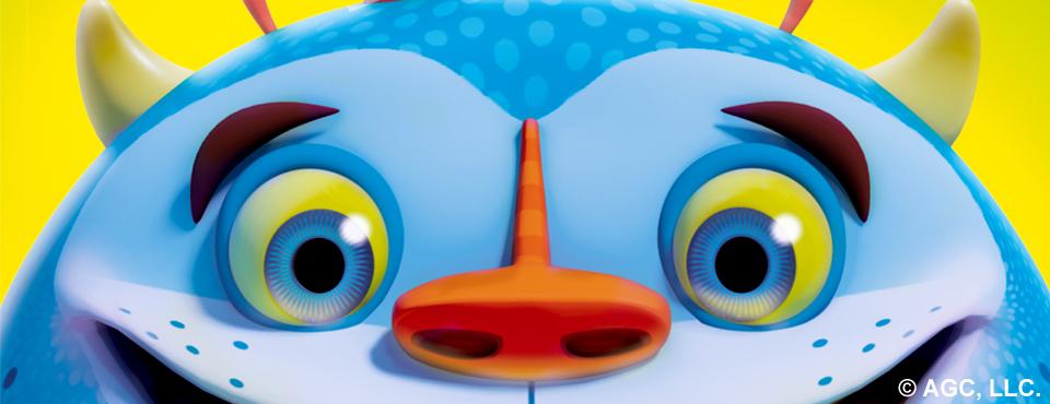 Blue Monster 3D.