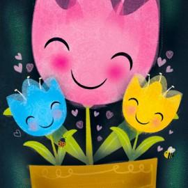 Smiley Flowers