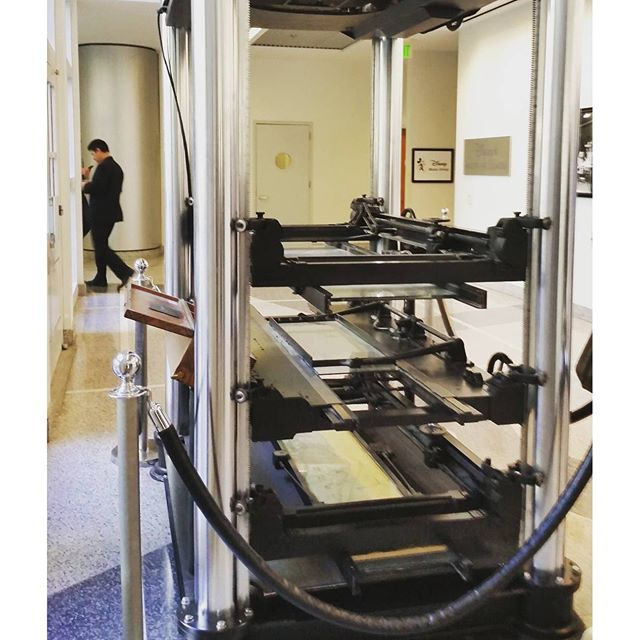 Multiplane Camera used for Snow White. #disneyanimation #snowwhite