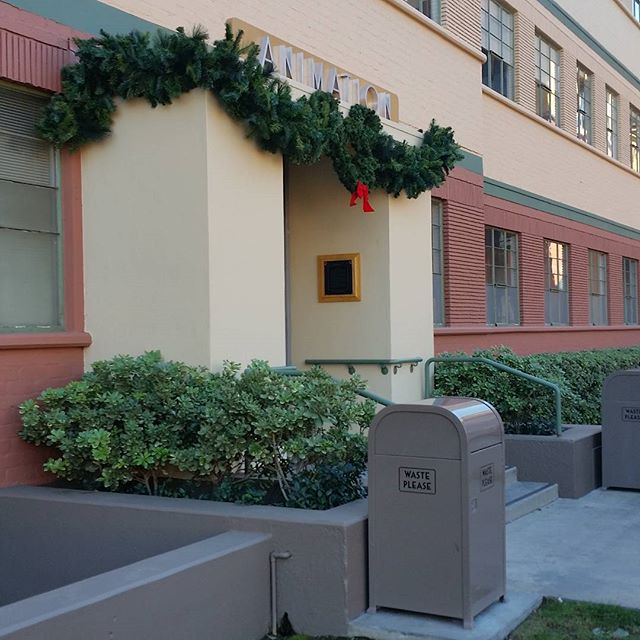 The original building of Walt Disney Animation.