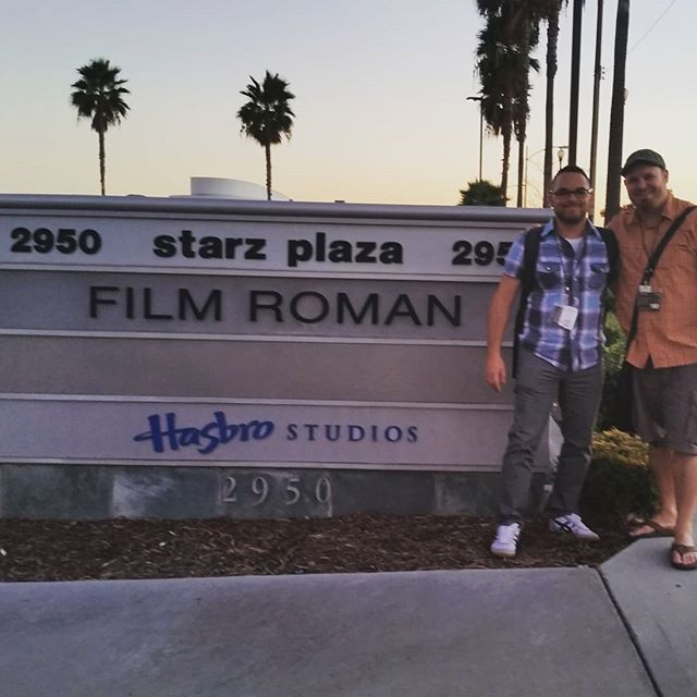 Visiting the Simpsons home. #filmroman Thanks Shane! #simpsons