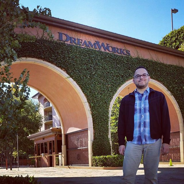 Wow finally got to see where all the magic is done. Thanks #natewragg #dreamworksanimation