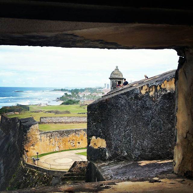 Castillo San Cristóbal #puertorico