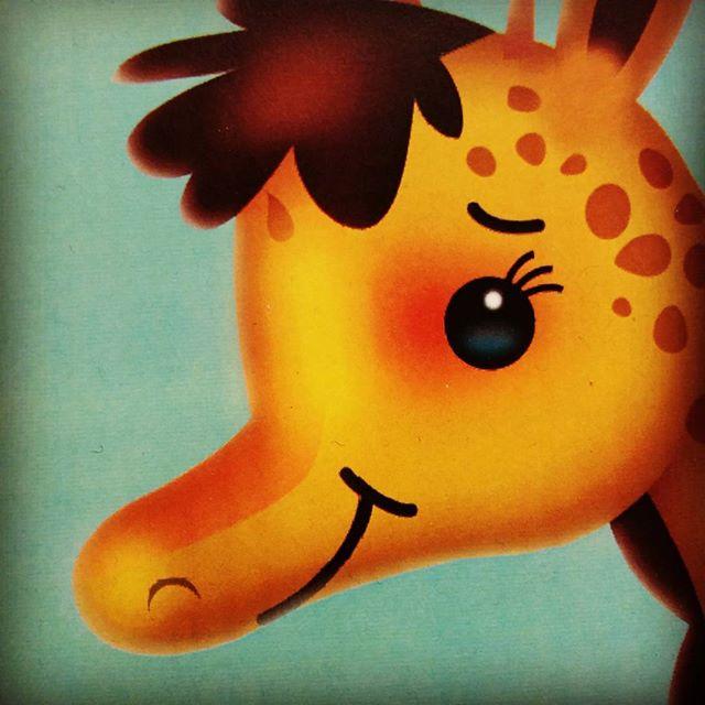 Cute giraffe #characterdesign