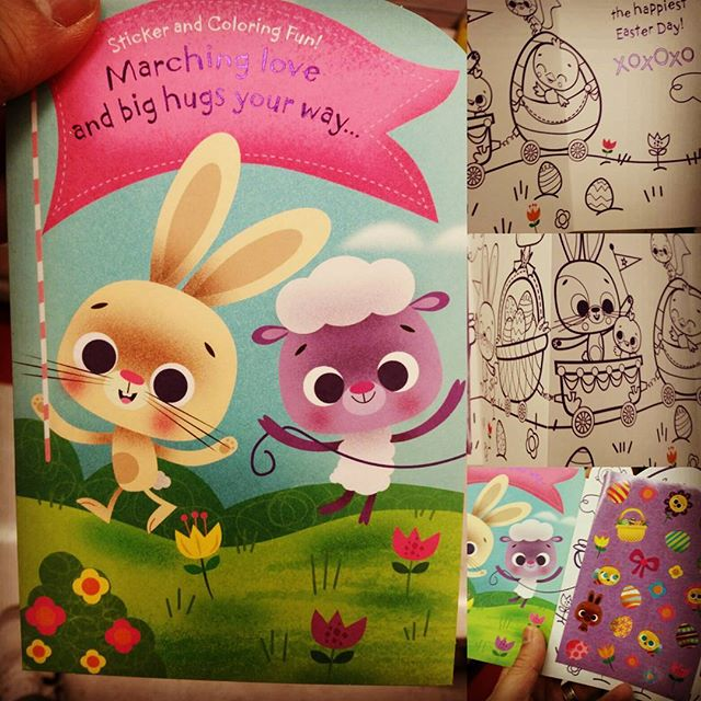 Easter card I made for Target. #easter #characterdesign