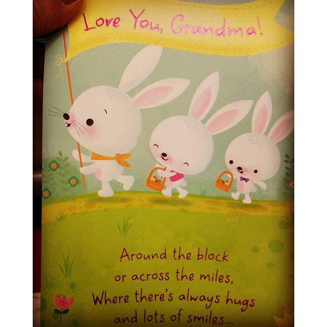 Easter card done for Target.