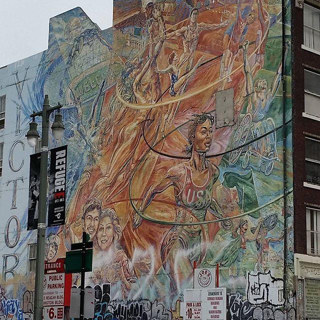 Around town. #murals