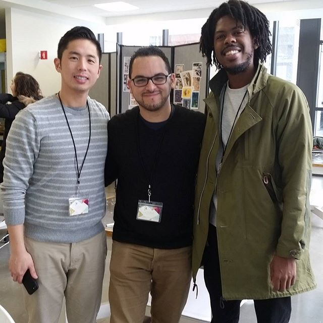 What an awesome day of inspiration! It was great meeting you both. Thank you! @choochoojoey @theartoffun @amgreetings #illustration #childrenbooks #childrenbookillustration