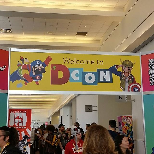 Had a blast attending DesignerCon this year!!! So much to see! So much talent! #illustration #designercon #designercon2017 #characterdesign #animation #nomarperez #collectables #art #pasadena #worktrip