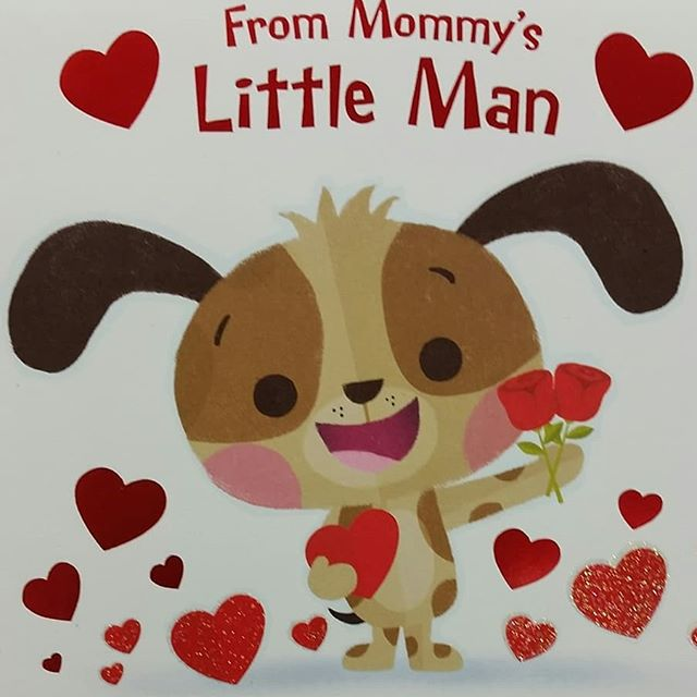 Happy Valentine's Day! Card illustration I did for Walmart. #characterdesign #illustration #greetingcards #dog #cutedogs #hearts #valentinesday #valentines