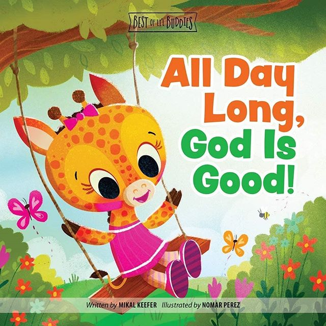 Finally get to share a new series of (Best of Li'l Buddies) board books that I had the pleasure of illustrating for Group Publishing, written by the talented author Mikal Keefer. This was so much fun to work on. Go check it out and preoder your copies today :) #illustration #childrenbooks #characters #godisgood @painted.words #nomarperez #baby #godisthere #giraffe #jungle #rhino #lion #kidsaventure #god #read #reading #love #kids #kidsbooks #parents #godlovesyou #parentschoice #nomarperez #godisnear #sharing #colorful #christmasgifts #christmas #childrenbookillustration #children #gift #godlovesme
